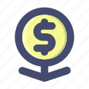 aset, investment, money icon