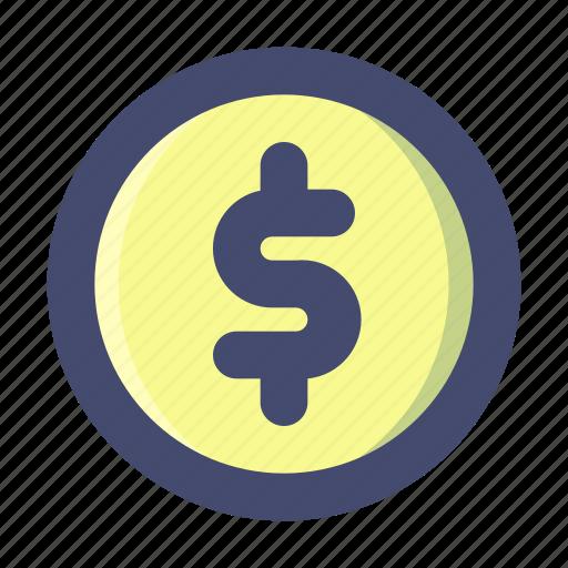 Coin, money icon - Download on Iconfinder on Iconfinder