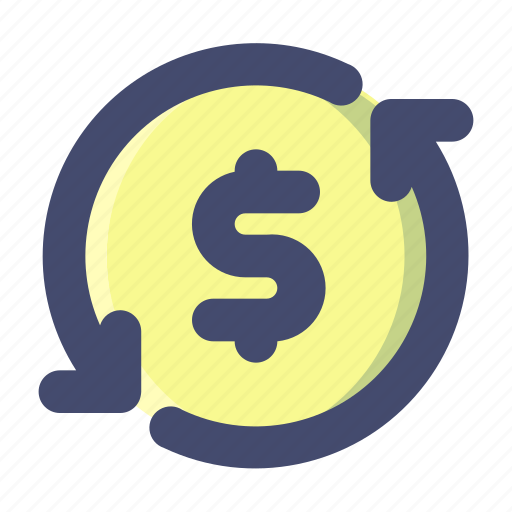 Money, rotate, transaction icon - Download on Iconfinder