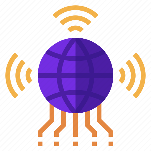 Connection, internet, iot, network, of, things, wifi icon - Download on Iconfinder