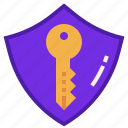 encryption, key, passcode, password, private, protect, secure icon