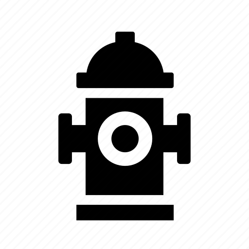 fire, fire fighters, hose, hot, hydrant, street, water icon