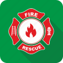 badge, fire, medal icon