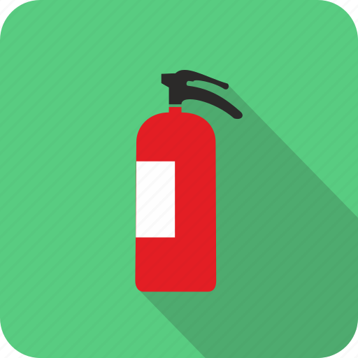 danger, extinguisher, fire, flame, risk icon