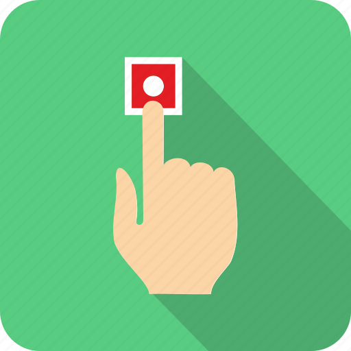 alarm button icon