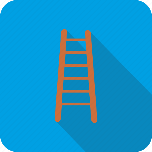 ladder, stairs, up icon
