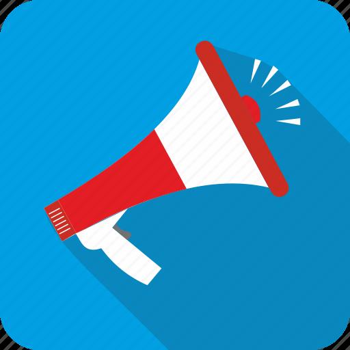 Megaphone, communication, loud, message icon - Download on Iconfinder