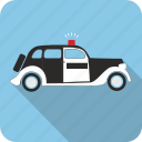 car, police, policeman, truck icon