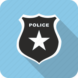 badge, police icon