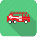 extinguisher, fire, fireescape, firetruck, flame icon