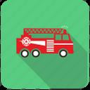 firetruck, fire, extinguisher, flame, fireescape