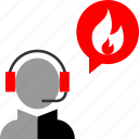 call, emergency, service icon