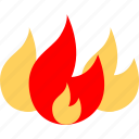 fire, flame, flaming, hot icon