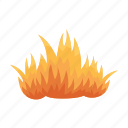 fire, flame, hot, temperature icon