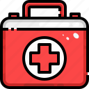 aid, care, emergency, first, health, hospital, kit icon