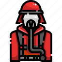 avatar, firefighter, firefighting, job, profession