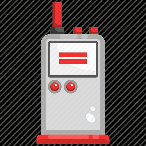 Communication, detective, electronics, radio, talkie, walkie icon - Download on Iconfinder