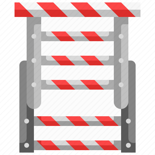 home, ladder, repair, security, stepladder icon