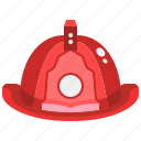 firefighter, fireman, hat, helmet, protection, safety, security