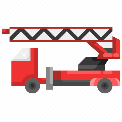 automobile, emergency, firetruck, security, truck, vehicle icon