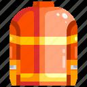 clothes, fashion, fire, jacket, shirt, suit, uniform icon