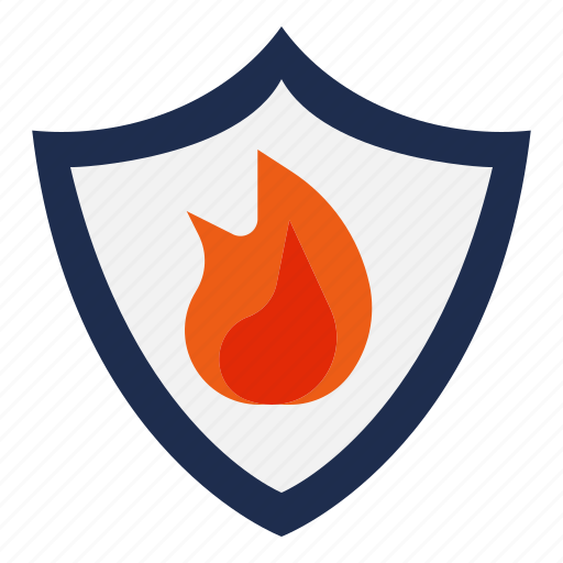 fire, flame, heat, prevention, protect, protection icon