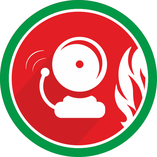 alarm, attention, bell, danger, fire, problem icon