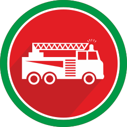car, fire, flame, logistics, truck, vehicle icon