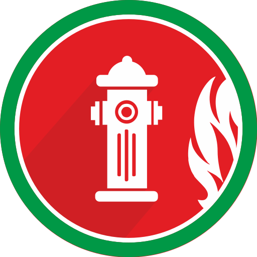 burn, fire, flame, hydrant, water icon