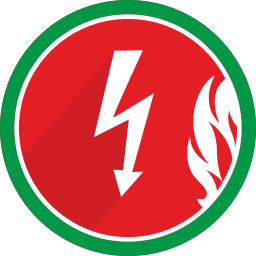electric, electricity, fire, flame, lightning, spark icon