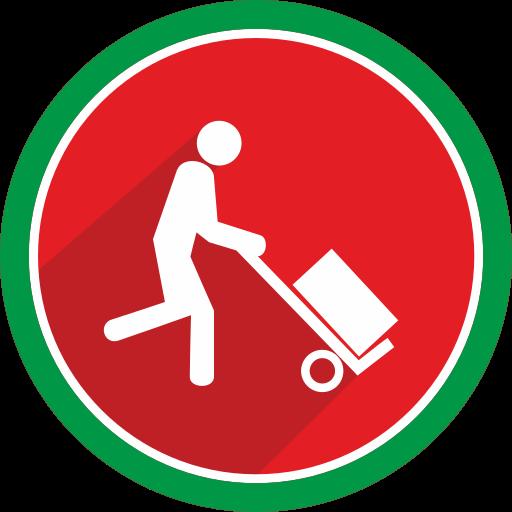 fire, transport, transportation, trolley icon