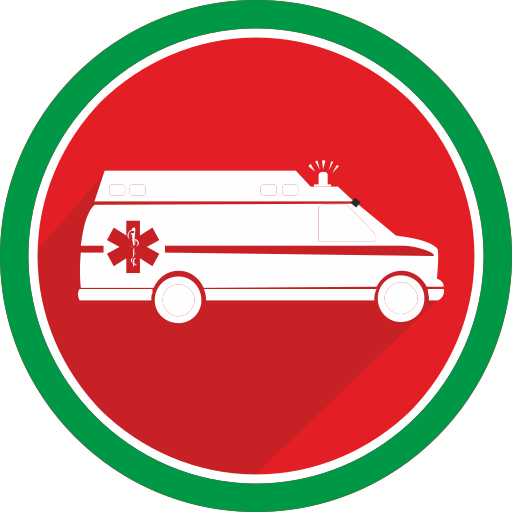ambulance, doctor, emergency, fire, health, hospital, medicine icon