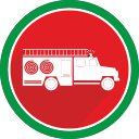 burn, fire, flame, logistics, truck icon