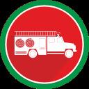 burn, fire, flame, logistics, truck icon