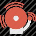 alarm, firefight, service icon