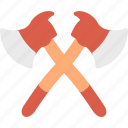 axe, firefight, service icon