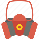 firefight, mask, protection, service icon