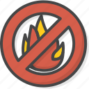 filled, fire, firefight, outline, service, sign icon