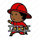 firefighter, firefighting, fireman icon