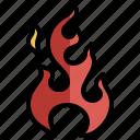 fire, flame, danger, element, burn