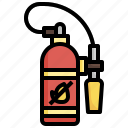 fire, extinguisher, firefighting, extinguished, extinguish, prevention