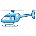 aircraft, emergency, fire department, helicopter icon