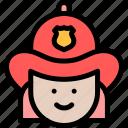fire, firefighter, firefighting, fireman icon