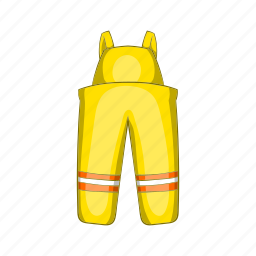 cartoon, costume, emergency, equipment, fighter, firefighter, uniform icon