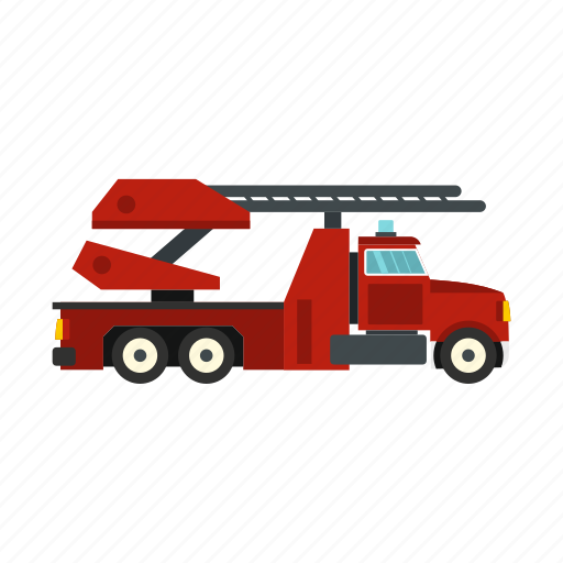 car, emergency, engine, equipment, fire, truck, vehicle icon