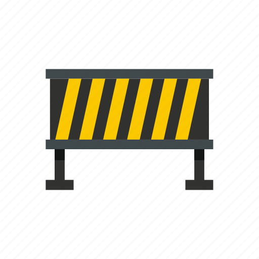 barrier, boundary, road, safety, stop, street, traffic icon