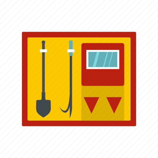 equipment, fire, metal, protection, rescue, shield, tool icon