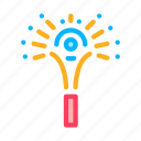 christmas, firework, flash, pyrotechnic, rocket, salute, sparkling icon