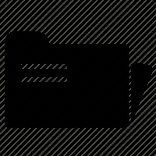 business, doc, document, folder icon