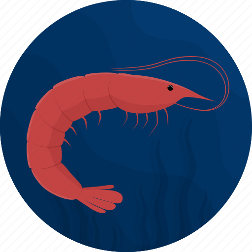 fish, food, kitchen, meal, sea, seafood, shrimp icon